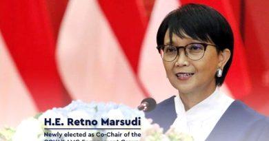 Menlu Retno Marsudi Terpilih Pimpin Kerja Sama Vaksin Multilateral COVAX-AMC EG