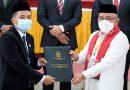 KPU Kota Depok Tetapkan Idris-Imam Sebagai Wali Kota dan Wakil Wali Kota Depok Terpilih