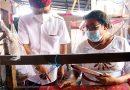 Dorong Ekonomi dan Industri Tenun Bali Bisa Bangkit di Masa Pandemi Covid-19, Kapolda Bali Dukung Kebijakan Gubernur