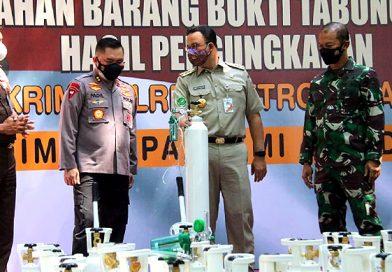 Gubernur DKI Jakarta Apresiasi Polda Metro Jaya Ungkap Penyelundupan Tabung Oksigen Ilegal
