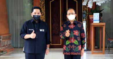 Menteri BUMN dan Gubernur Bali Bahas Pembukaan Pintu Wisatawan Mancanegara