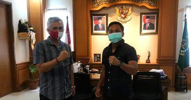 Perkenalkan Program S2, Dekan Fakultas Hukum Unhas Silaturahmi ke Kantor Kejari Badung