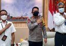 Pisah Kenal GM PLN Unit Induk Distribusi Bali dengan Kapolda
