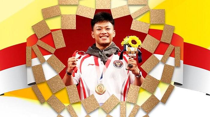 Olimpiade Tokyo: Rahmat Erwin Abdullah Raih Medali Perunggu untuk Cabor Angkat Besi