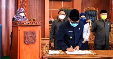 Gelar Rapat Paripurna Masa Sidang ke 3, DPRD Kota Depok Bahas Raperda Perubahan APBD TA 2021