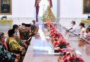Presiden Jokowi Terima Kedatangan TP3 Enam Laskar FPI di Istana Merdeka Jakarta