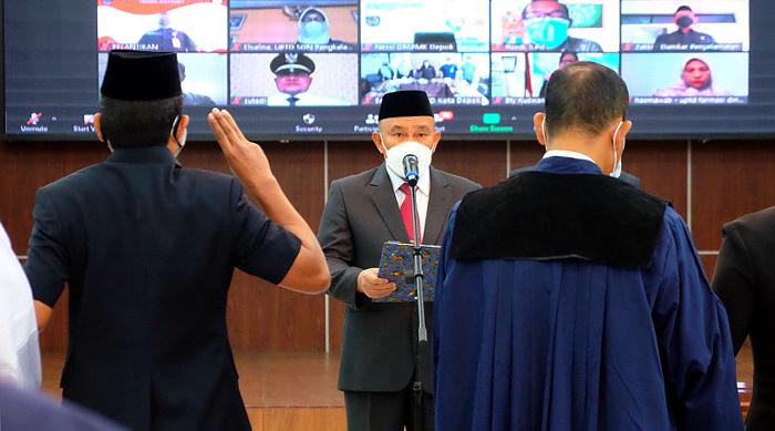 Dilantik Wali Kota Depok, 13 Pejabat Tinggi Pratama Resmi Emban Jabatan Baru