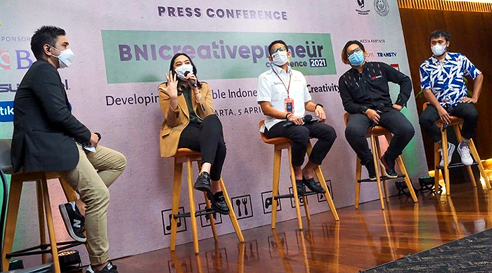 Kemenparekraf Dukung Pelaksanaan Creativepreneur Conference 2021