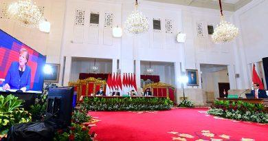 Secara Virtual, Jokowi Bareng Angela Merkel Buka Hannover Messe 2021 Digital Edition