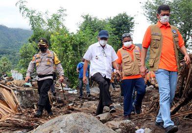 Bencana di NTT-NTB, Kepala BNPB: Kerja Sama TNI, Polri, Pemda, Berjalan Sangat Maksimal