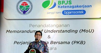 Tindaklanjuti Inpres Nomor 2 Tahun 2021, Pendamping Desa Didaftarkan Jadi Anggota BPJS Ketenagakerjaan