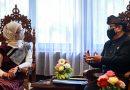 Stafsus Angkie-Wagub Cok Ace Bahas Prioritas Vaksinasi Bagi Penyandang Disabiltas di Bali