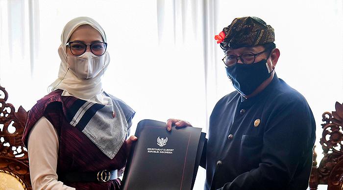 Stafsus Presiden Angkie Yudistia Apresiasi Pemprov Bali Miliki Komite Disabilitas