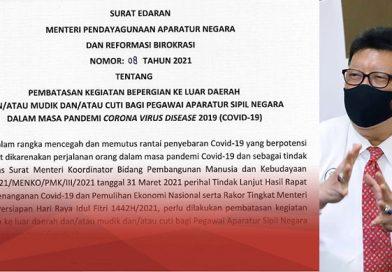 Menteri PANRB: ASN Dilarang Mudik dan Cuti Saat Lebaran