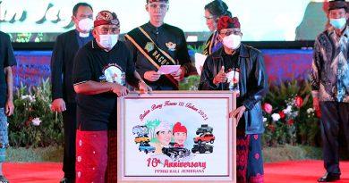 Hadir Perayaan Bulan Bung Karno ke 3, Bupati Tamba Beberkan Rencana Pengembangan Jembrana
