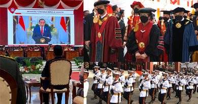Megawati Dikukuhkan sebagai Guru Besar Tidak Tetap Ilmu Pertahanan Unhan