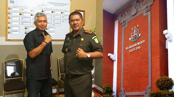 Kejari Buleleng Raih Penghargaan Terbaik, Dekan FH Unmas Denpasar Ucapkan Selamat